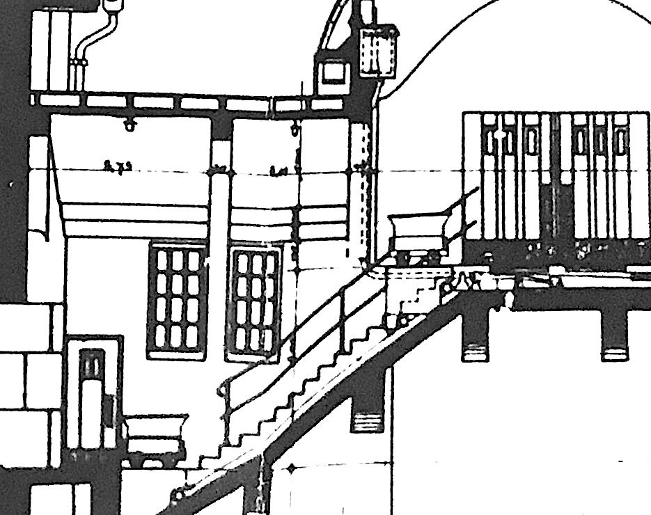 Detail Inventarienzeichnung